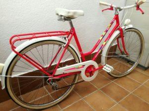 bicicletas antiguas de paseo