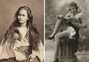 fotos de mujeres antiguas