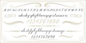 letras antiguas