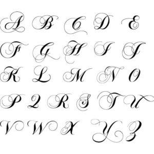 letra antigua manuscrita