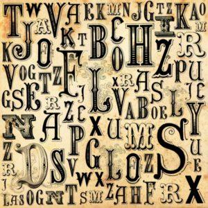 tipos de letras antiguas
