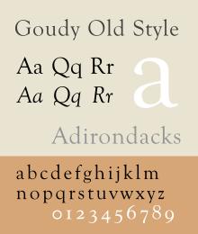 letras antiguas tipos
