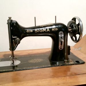 maquinas de coser antiguas sigma