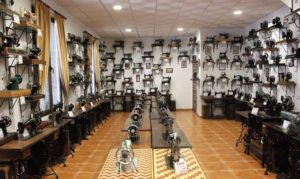 maquinas de coser antiguas museo