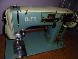 maquinas de coser antiguas alfa