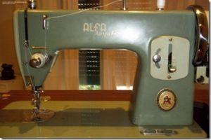 maquina de coser alfa royale