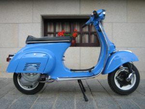 motos antiguas vespa