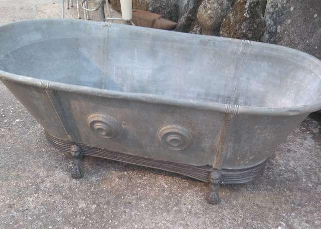 bañeras antiguas de zinc