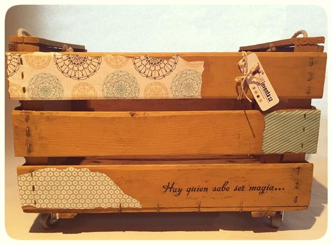 cajas de madera antiguas decoradas