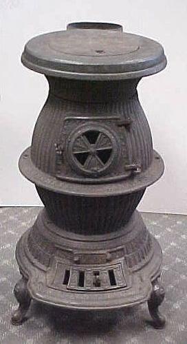 chimeneas antiguas de hierro