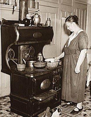 cocinas de leña antiguas