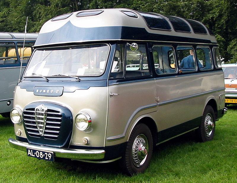 furgonetas antiguas alfa romeo