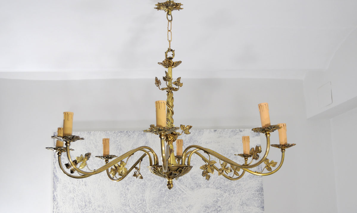 lamparas antiguas de techo