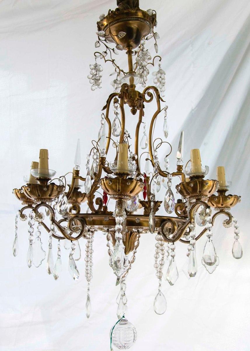 lamparas antiguas de bronce