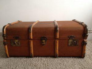 maletas antiguas de madera
