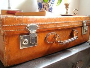 maletas antiguas de cuero