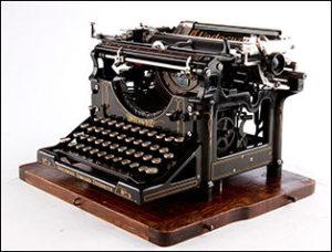 maquinas de escribir antiguas