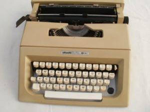 maquinas de escribir antiguas olivetti