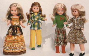 muñecas antiguas nancy
