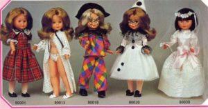 muñecas nancy antiguas