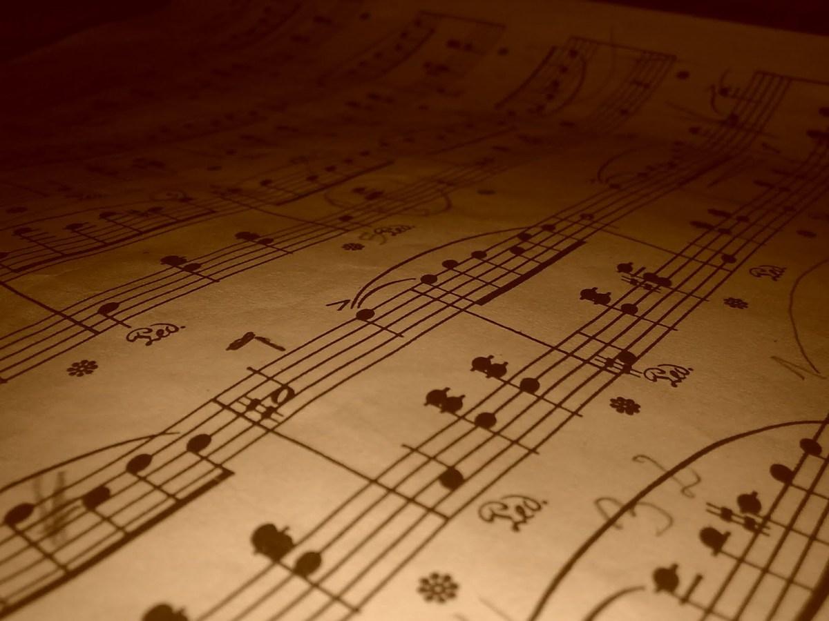 partituras antiguas origenes