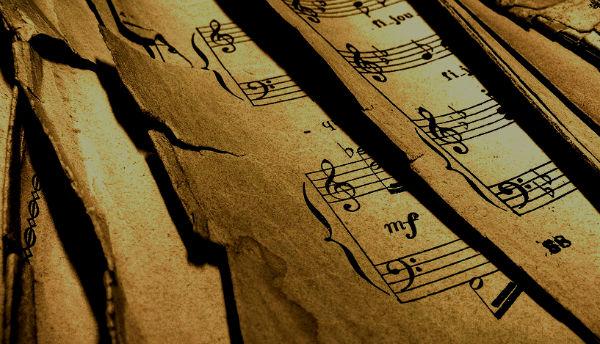 partituras antiguas