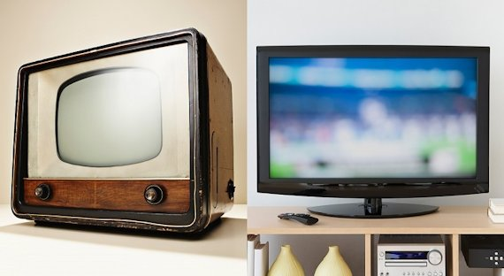televisiones antiguas historia