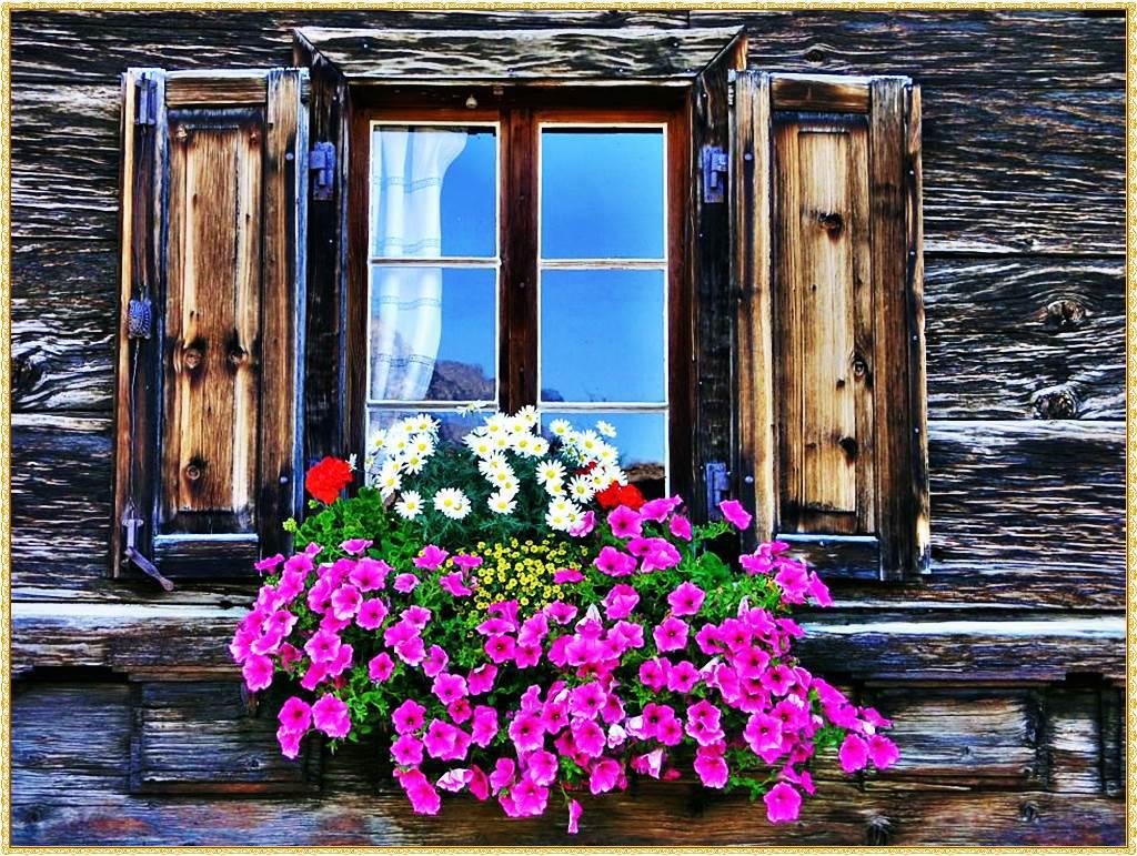 ventanas antiguas decoradas