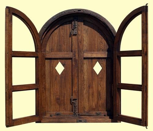 ventanas antiguas de madera