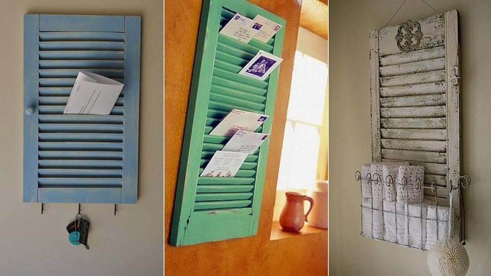 ventanas antiguas recicladas